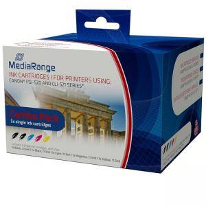 MultiPack Canon CLI521 Cyan, Magenta, Yellow, Black and PGI520 black - изображение