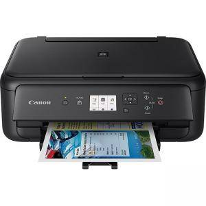 Мастилоструйно многофункционално устройство Canon PIXMA TS5150 All-In-One, Black, 2228C006AA - изображение